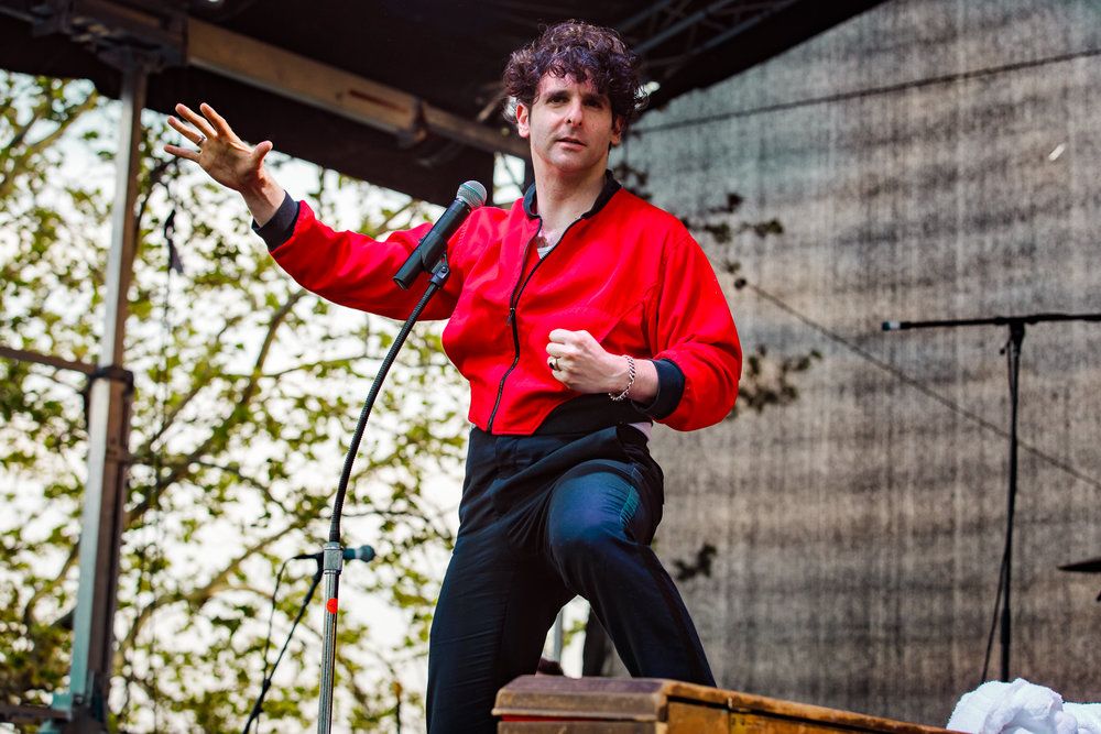 Low Cut Connie performing at WTMD First Thursday at Canton Waterfront Park, Baltimore - 5/3/2018 (photo by Matt Condon / @arcane93)
