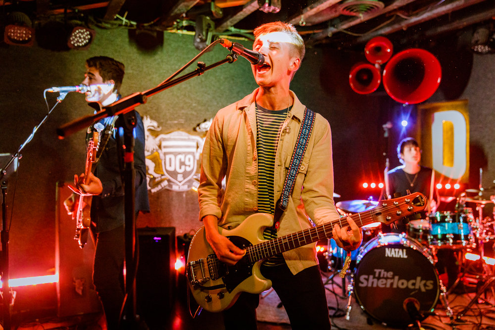 The Sherlocks performing at DC9 in Washington, DC - 5/7/2018 (photo by Matt Condon / @arcane93)