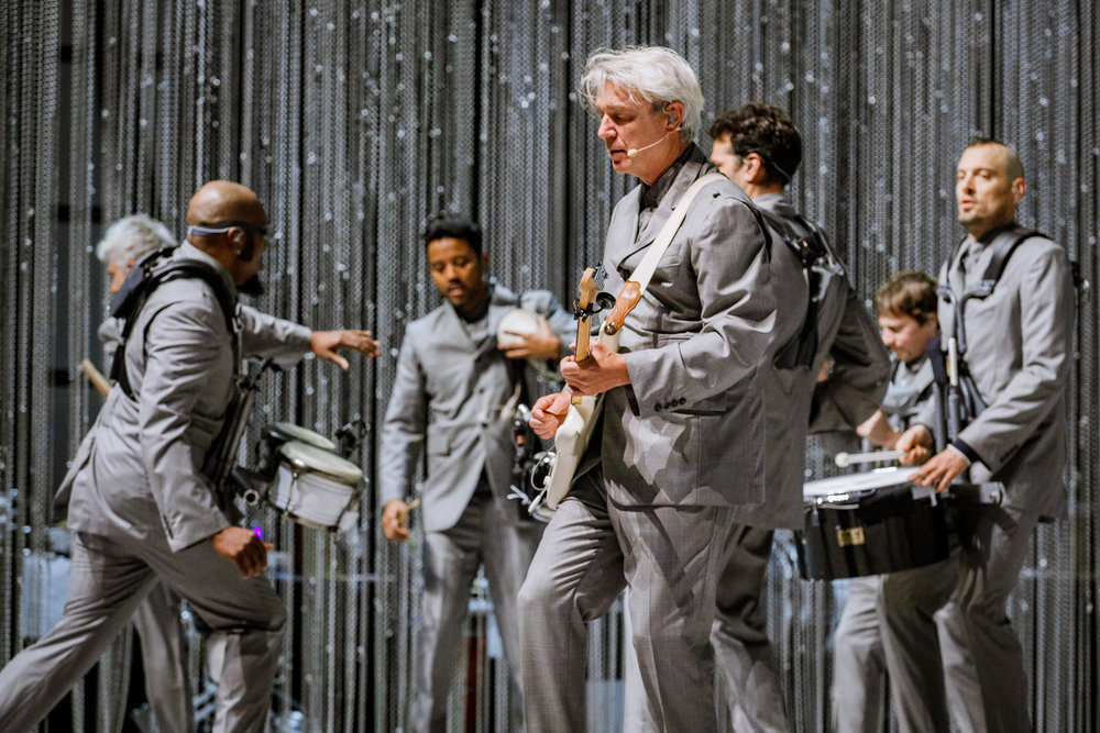 David Byrne performing at The Anthem in Washington, DC - 5/12/2018 (photo by Matt Condon / @arcane93)