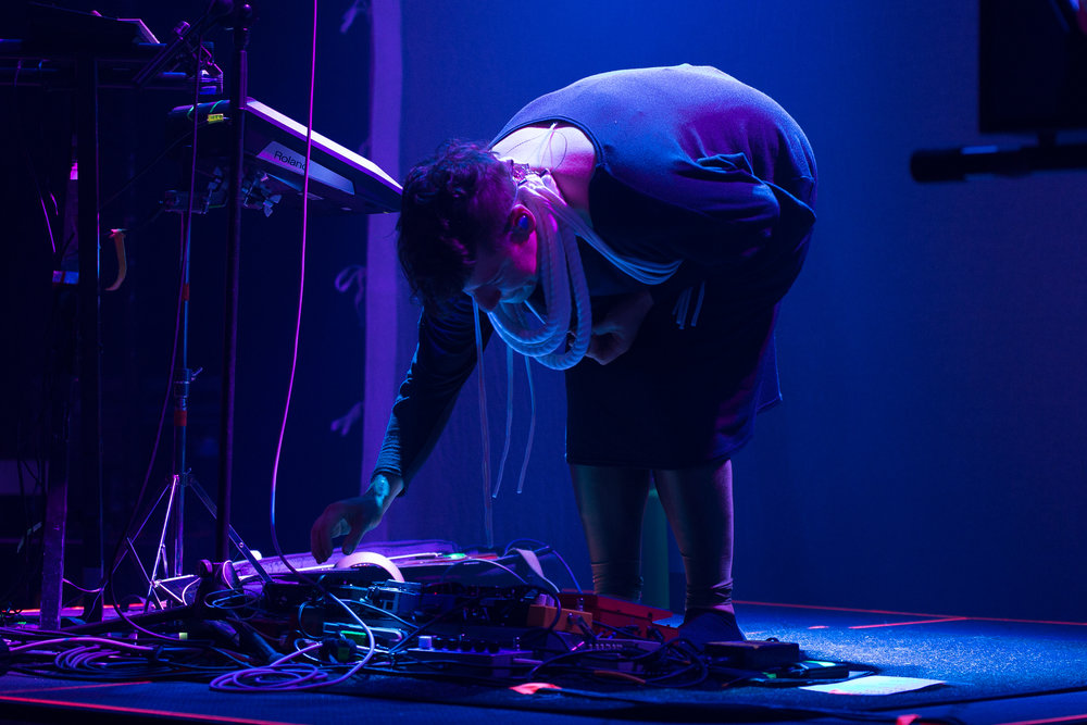 Tune-Yards at 9:30 Club (Photo by Mauricio Castro /  @themauricio )