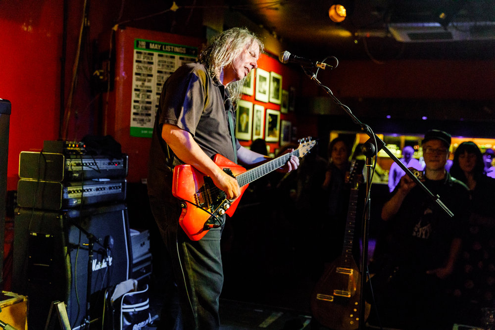 The Bevis Frond performing at the 100 Club in London, England - 5/27/2018 (photo by Matt Condon / @arcane93)