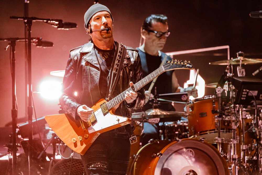 U2 performing at Capital One Arena in Washington, DC - 6/17/2018 (photo by Matt Condon / @arcane93)