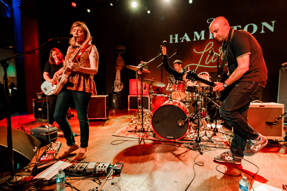 Thrushes performing at The Hamilton in Washington, DC - 6/16/2018 (photo by Matt Condon / @arcane93)