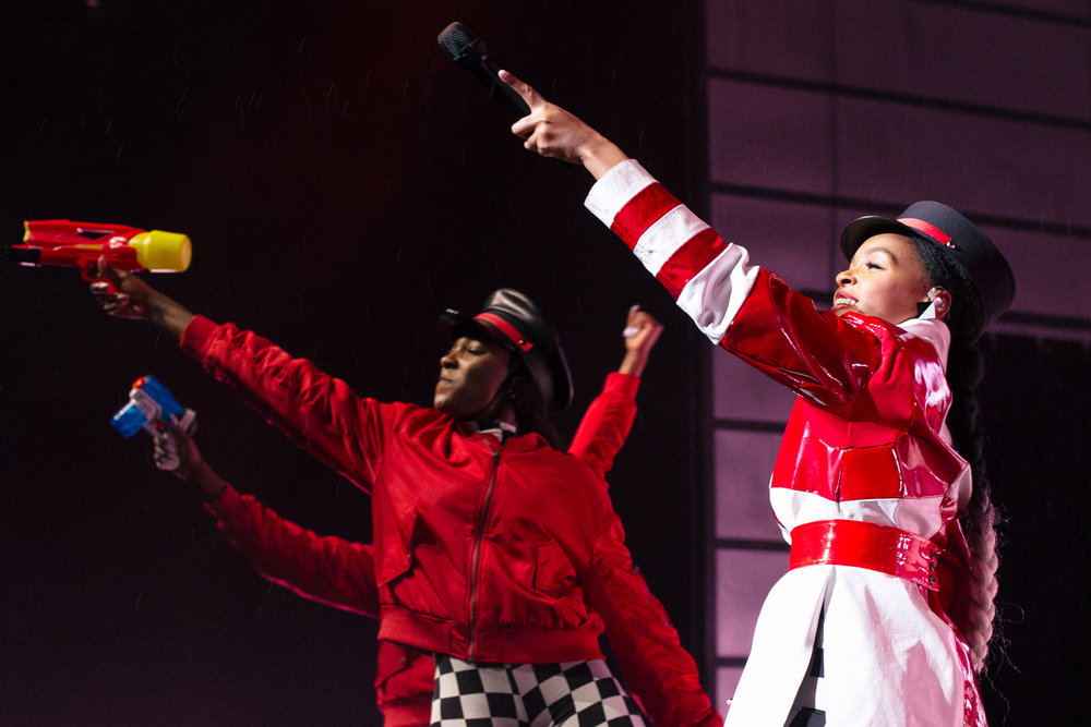 Janelle Monáe at The Anthem (photo by Mauricio Castro /  @themauricio )