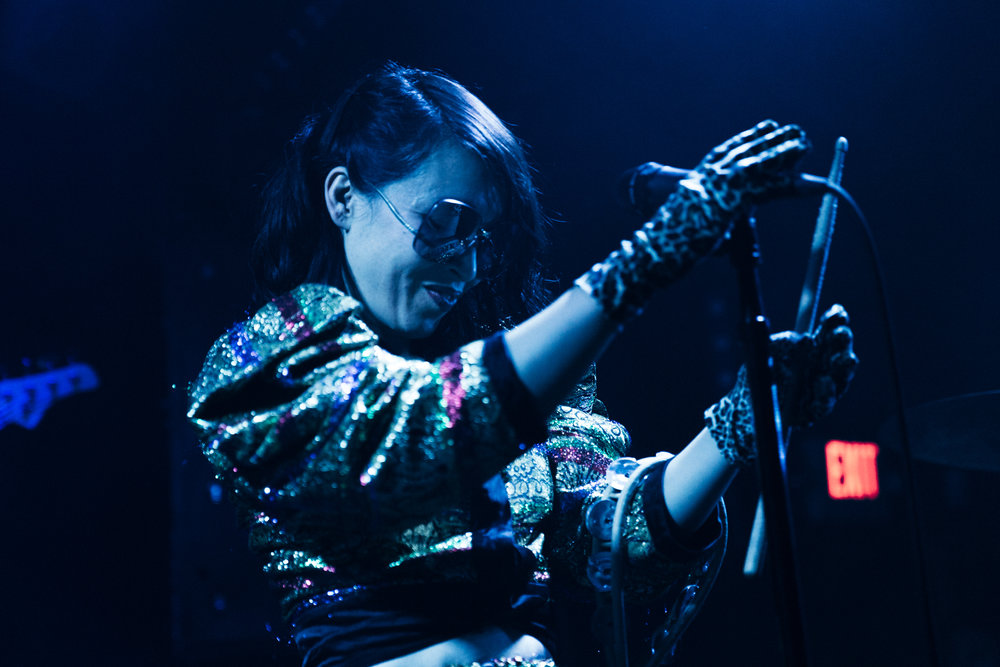 Little Dragon at Rock and Roll Hotel (Photo by Mauricio Castro /  @themauricio )