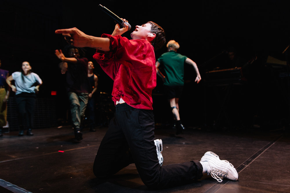 Christine and the Queens at 9:30 Club (Photo by Mauricio Castro /  @themauricio )