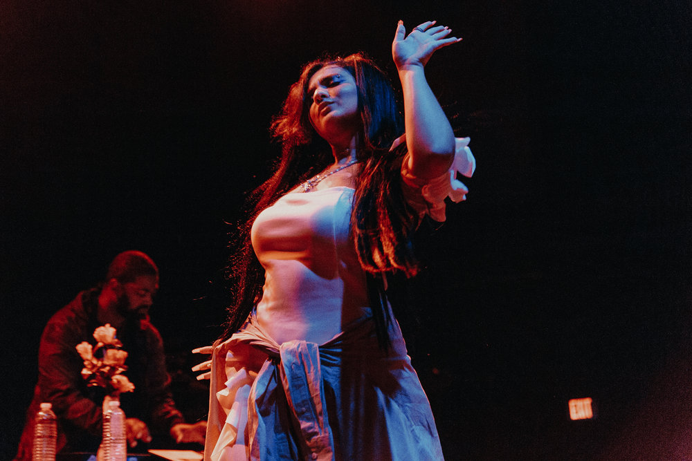 Dounia at 9:30 Club (Photo by Mauricio Castro /  @themauricio )
