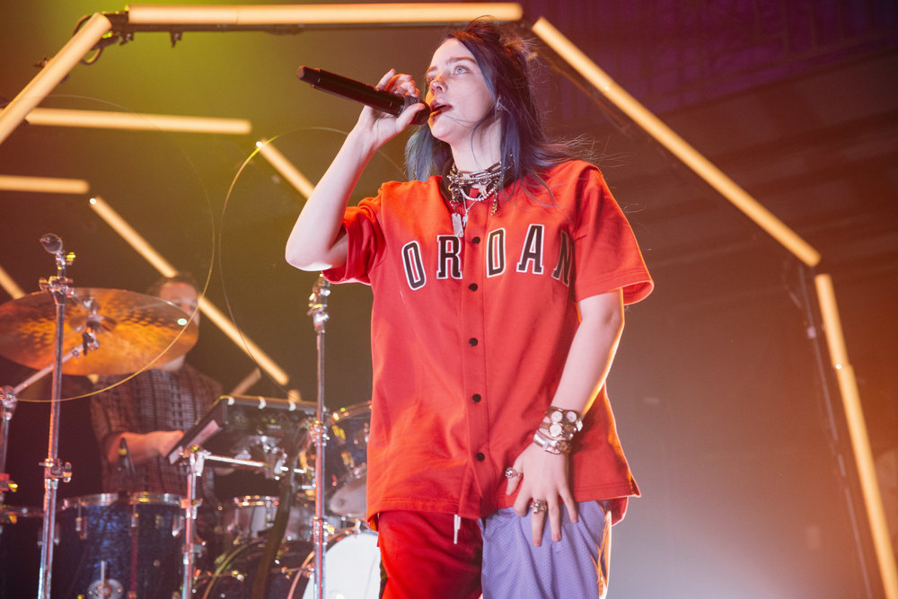 Billie Eilish @ 9:30 Club (Photo by Anna Moneymaker /  @anna.money )