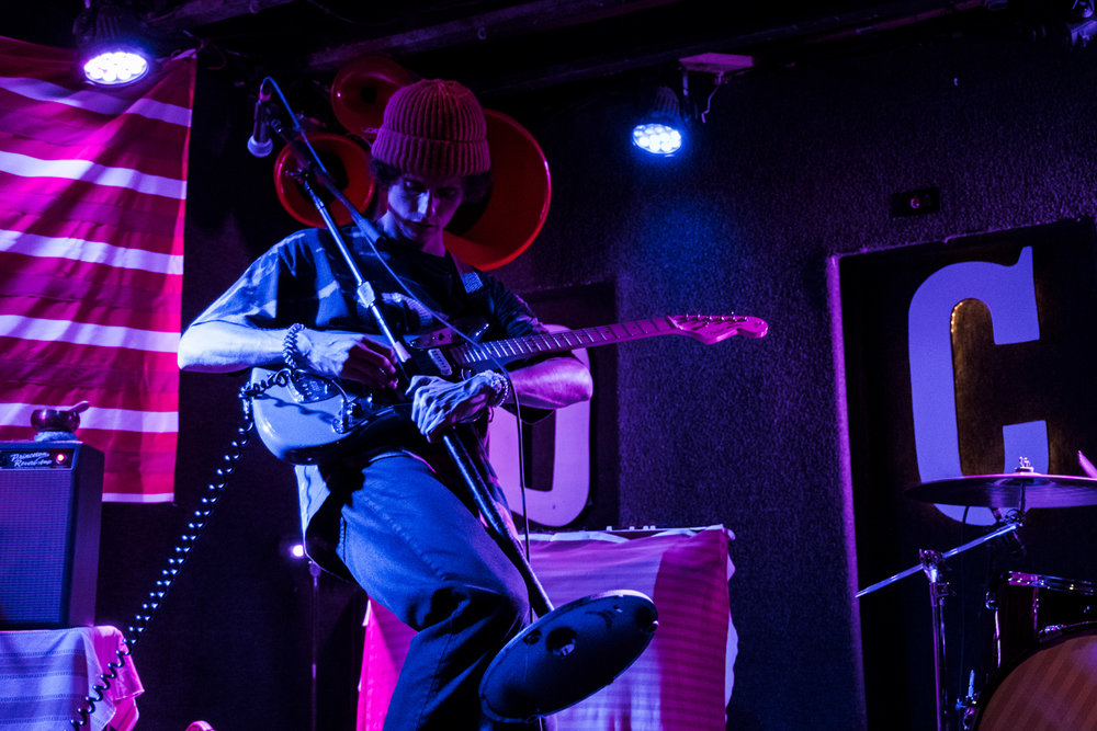 Ron Gallo getting weird at DC9 in Washington, D.C. (Photo by Joel Richard /  @joelscottrichard )