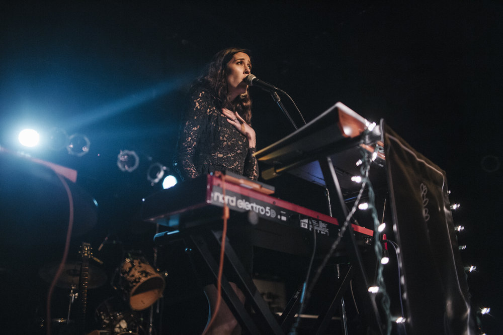 Half Waif at Black Cat (Photo by Anna Moneymaker)