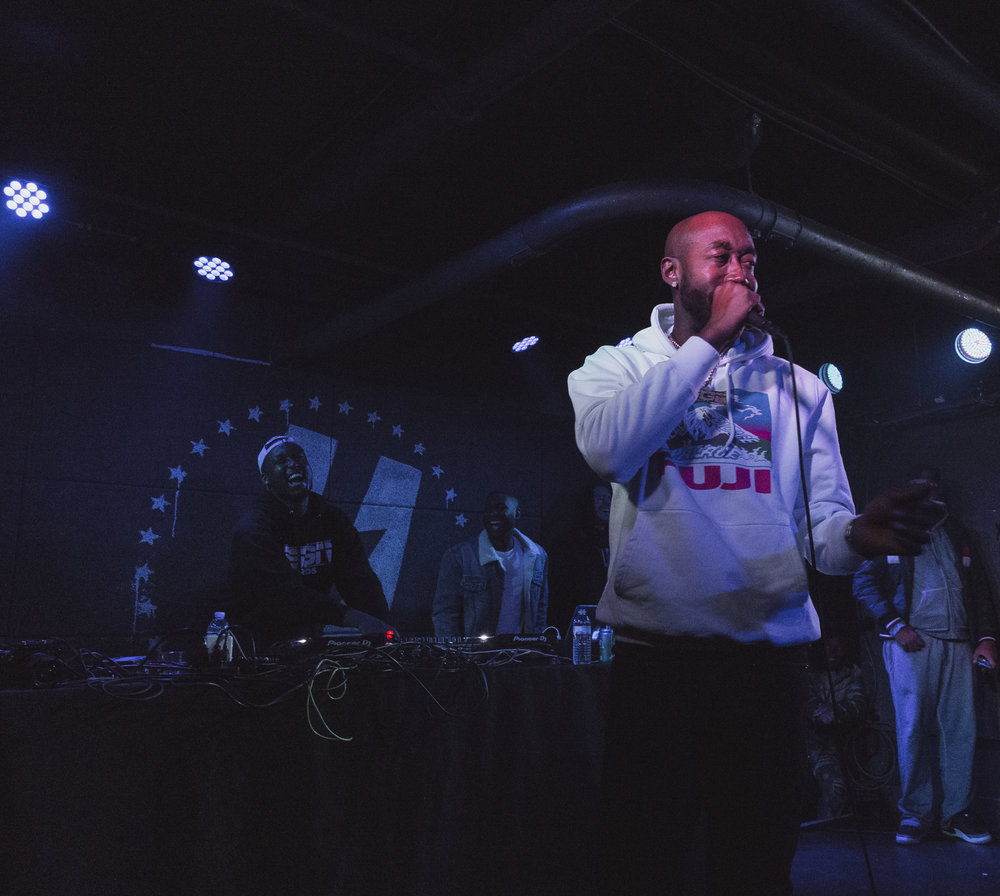 Freddie Gibbs at U Street Music Hall in Washington, D.C. - 11/27/18 (Photo By Avery Junius)