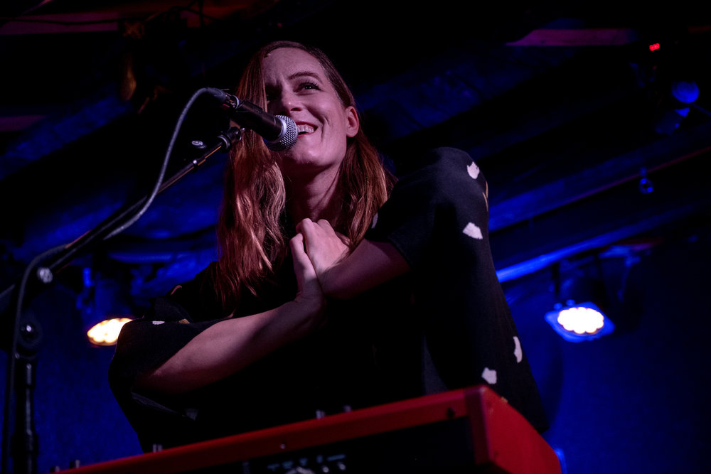 "Laura Gibson performing songs off of her latest LP 'Goners"" at DC9 in Washington, D.C. - 11/26/18 (Photo by Joel Richard)"