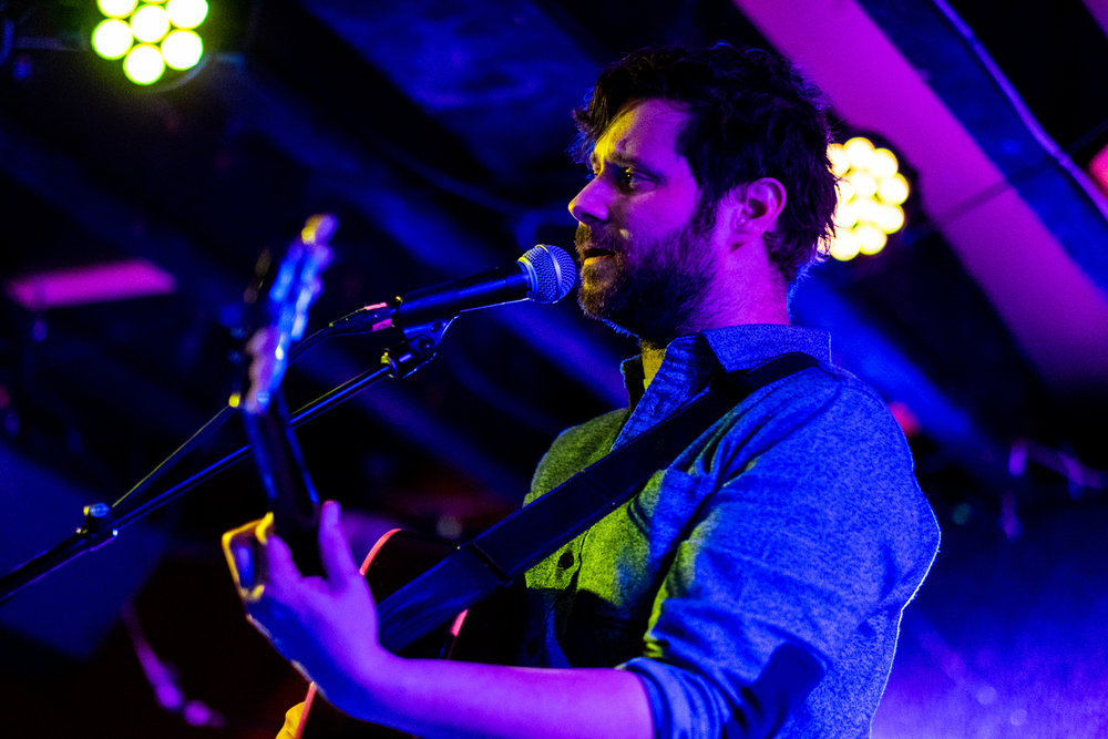 Dan Mangan opening for Laura Gibson at DC9 in Washington, D.C. - 11/26/18 (Photo by Joel Richard)