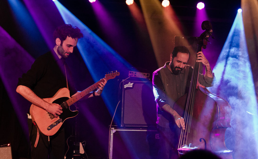 The Julian Lage Trio at Union Stage in Washington, D.C. - 11/28/18 (Photo by Kevin Hill)