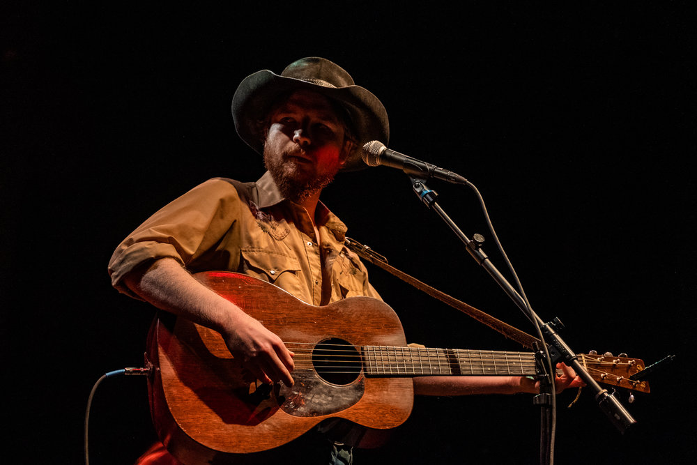 Colter Wall performing songs off of his album 'Songs Of The Plains' at the 9:30 Club in Washington, D.C. (Photo ©Joel Richard