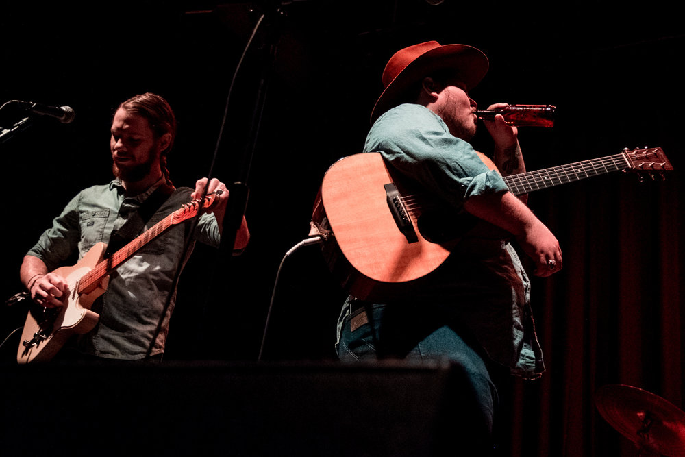 Vincent Neil Emerson opening for Colter Wall at the 9:30 Club in Washington, D.C. (Photo ©Joel Richard