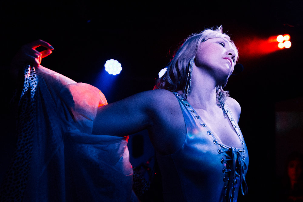 Holiday Sidewinder at DC9 (Photo by Mauricio Castro)