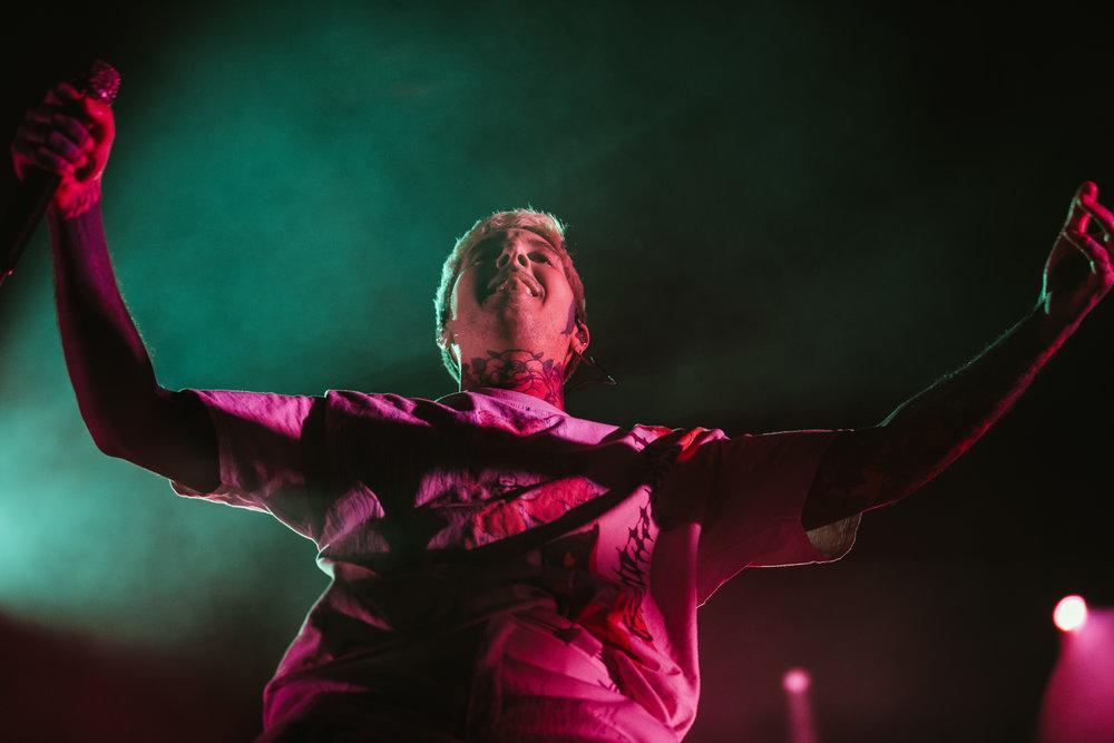 Bring Me the Horizon at EagleBank Arena (Photo by Anna Moneymaker)