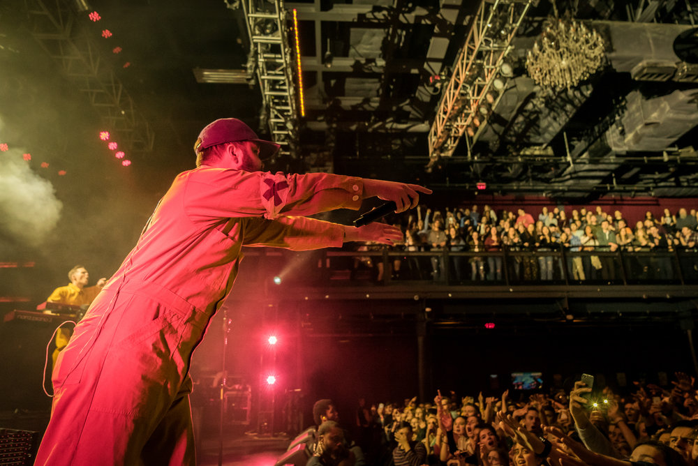 Quinn XCII performing at Fillmore Silver Spring (Photo by Zach Strouse /  @Positive_Vibe_Media    )