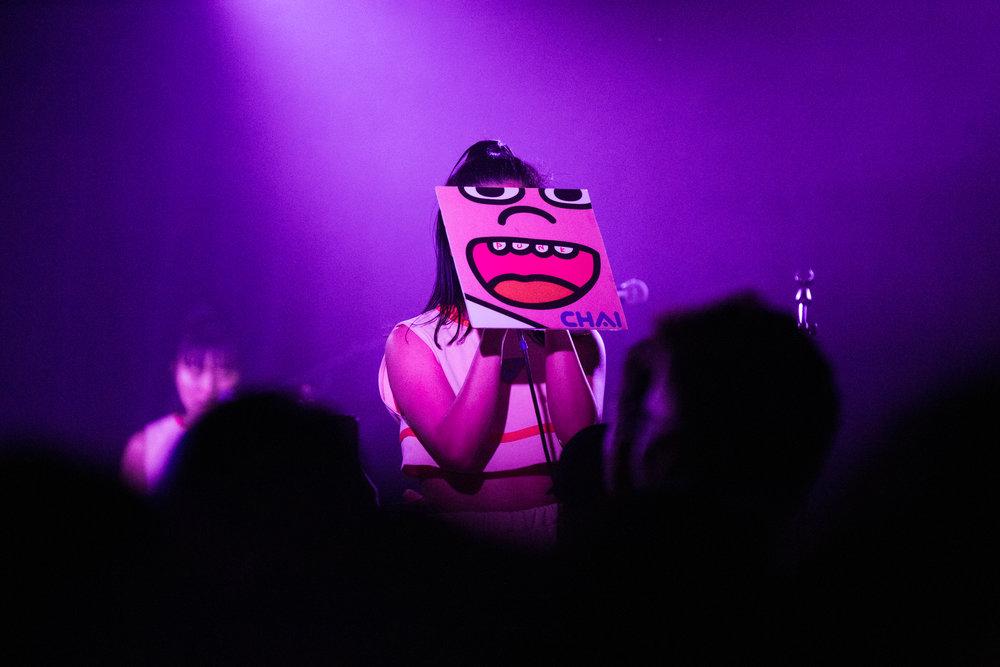 CHAI at Union Stage (Photo by Mauricio Castro /  @themauricio )