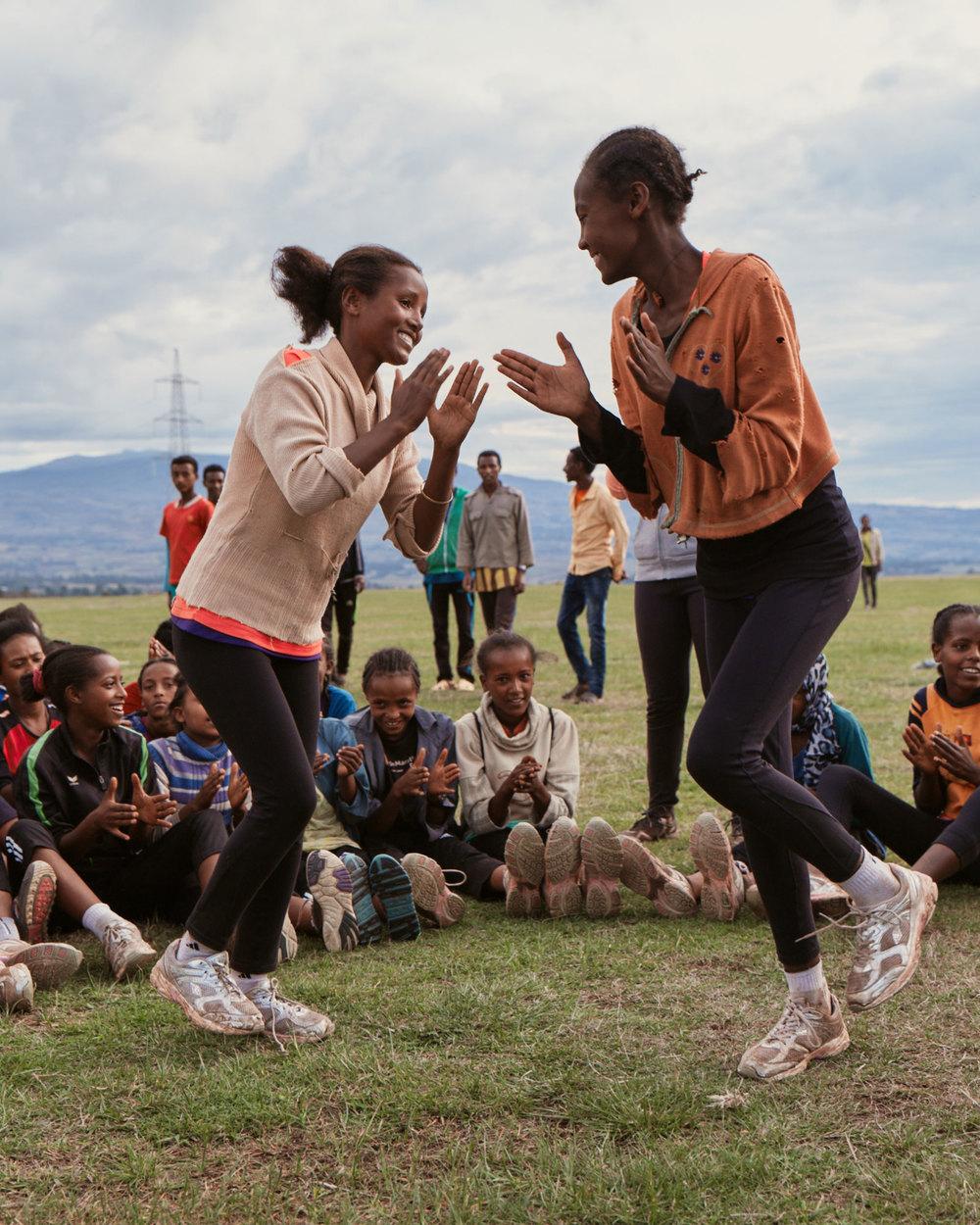 Girls Gotta Run in Ethiopia
