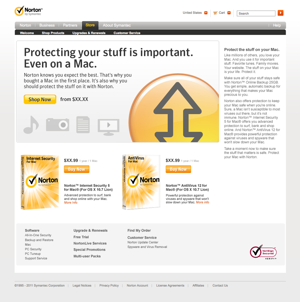 Norton Protection for Macs 2014 Campaign