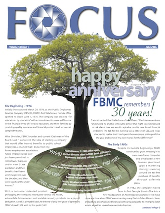 FBMC 30th Anniversary Cover Story