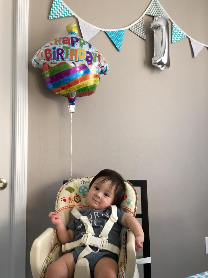 Alastair's First Birthday