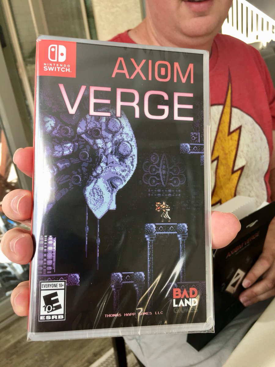 180da24165e7 Axiom Verge Retail Launch! — Axiom Verge