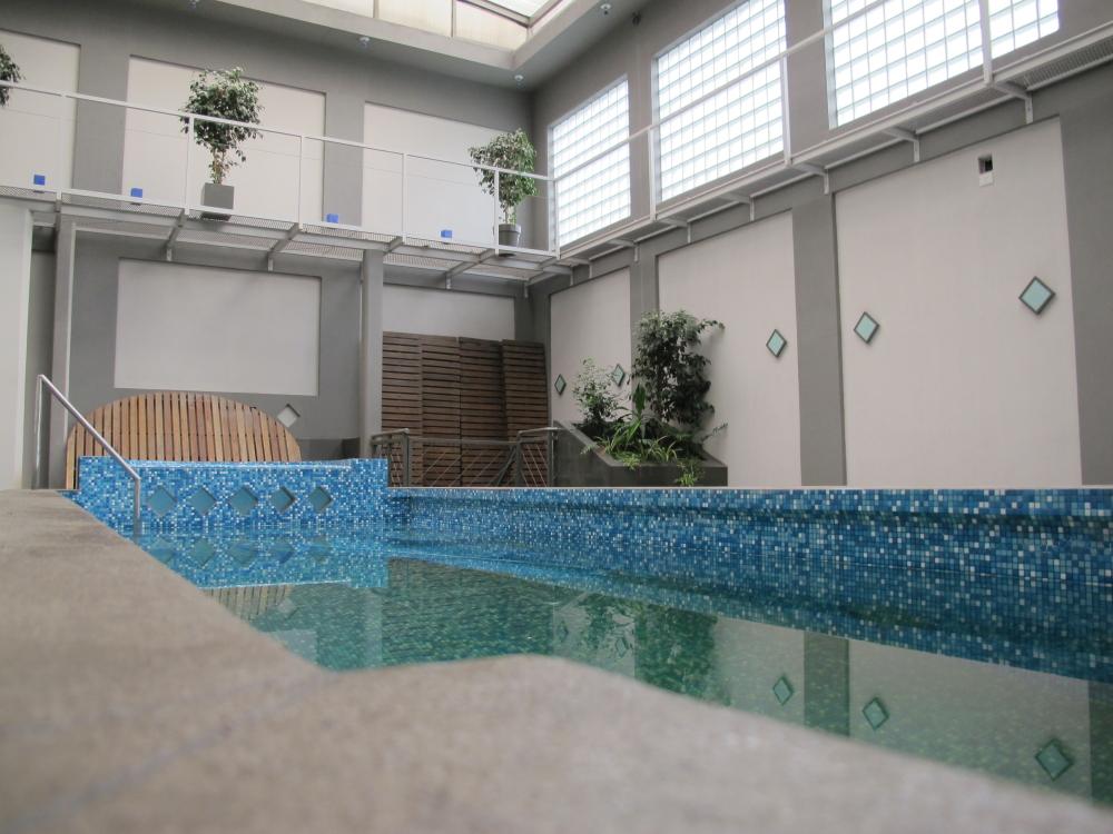 More pool.