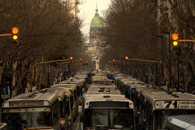 The buses of Buenos Aires
