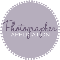 Click the above box to fill out a photographer application and join our wonderful team!