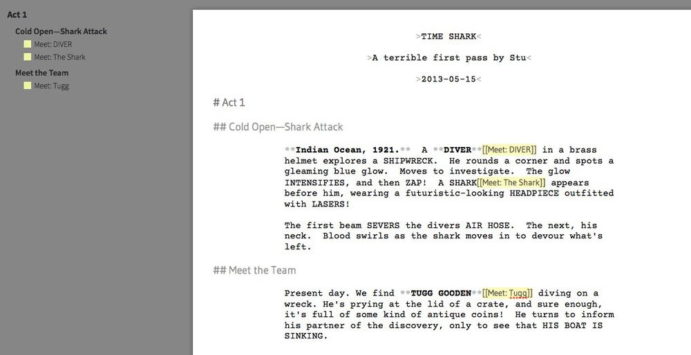 how to write a film treatment pdf
