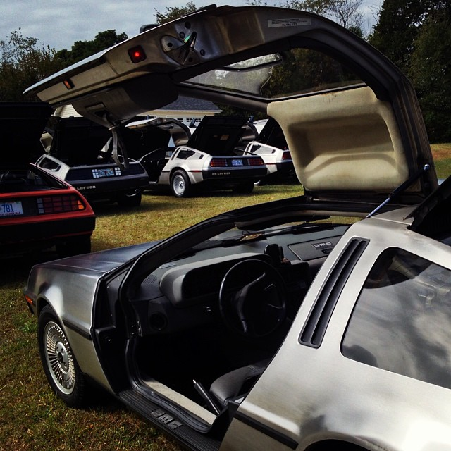 The DeLorean club