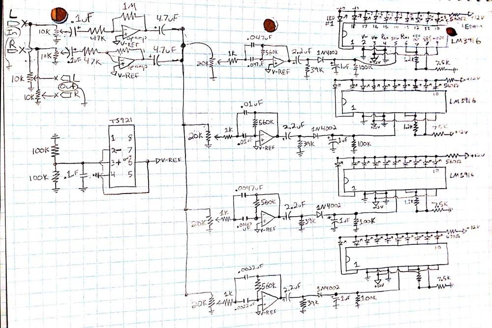audio spectrum analyzer planning joseph conley com rh josephconley com spectrum analyser circuit diagram DIY Spectrum Analyzer Kit
