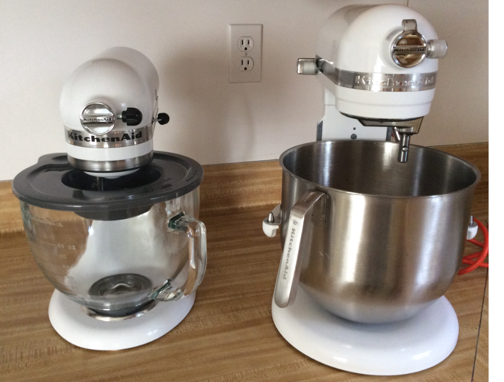 KitchenAid Pro - Big sister gets to come home on weekends to visit.