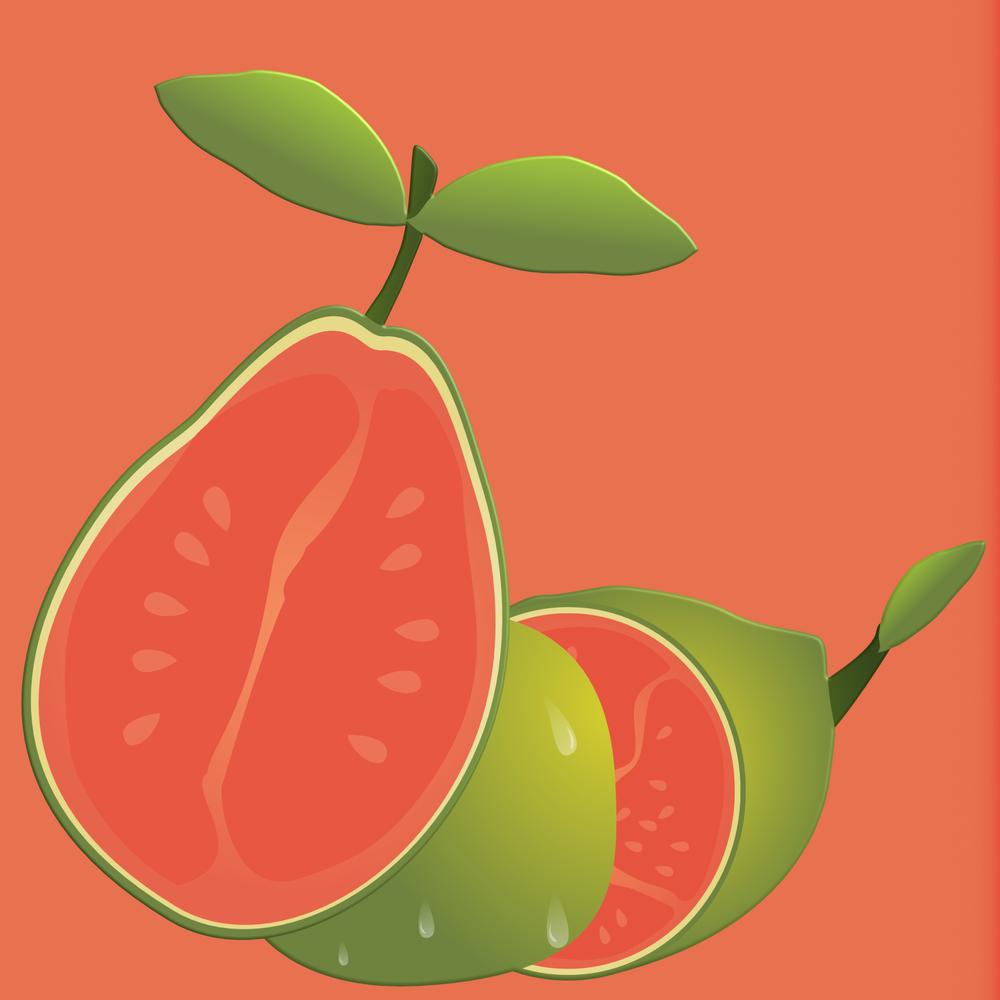 Guava Rum Cake -