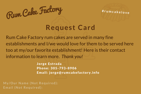 Request Card - Download
