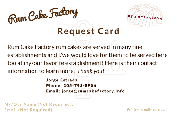 Request Card - Print Version - Download