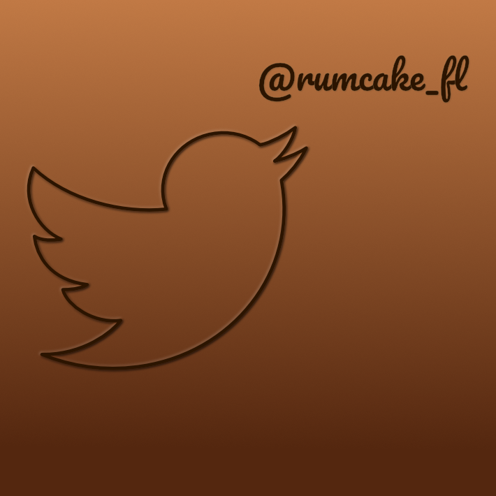- Follow us! @rumcake_fl
