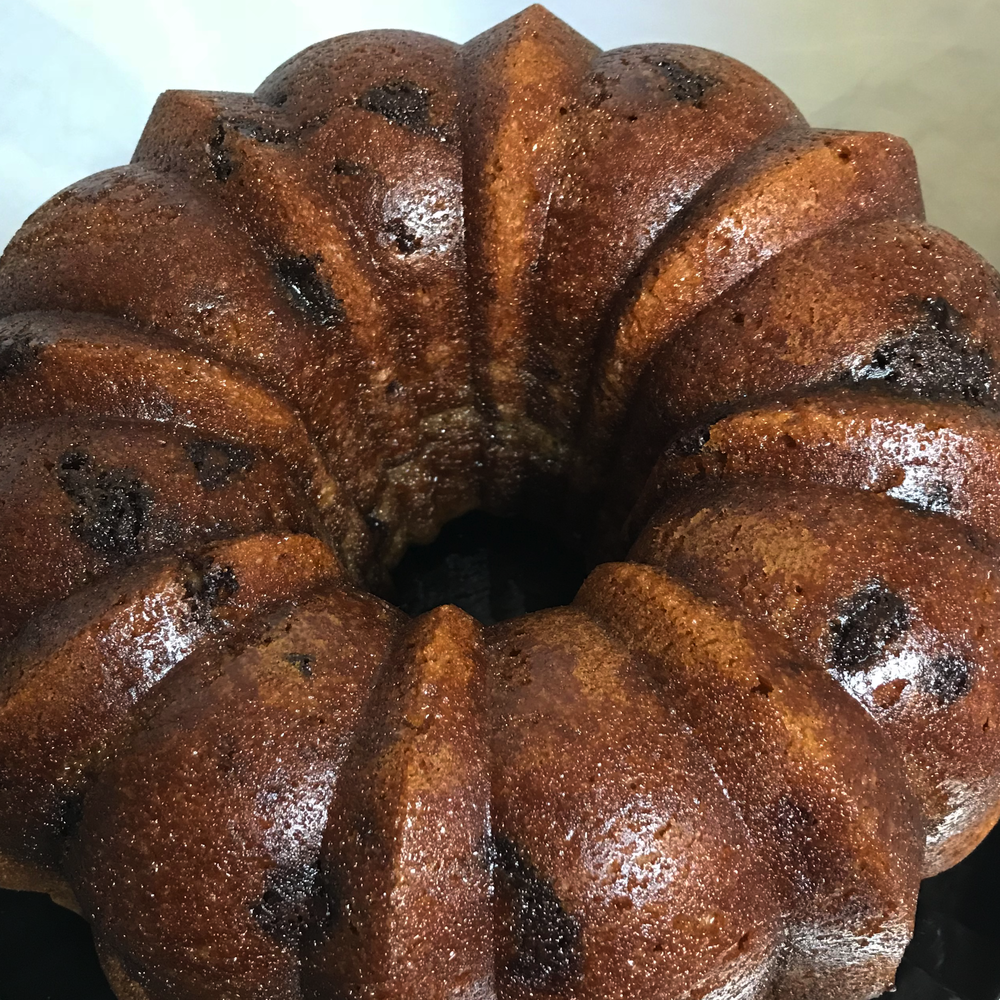 NUTELLA RUM CAKE
