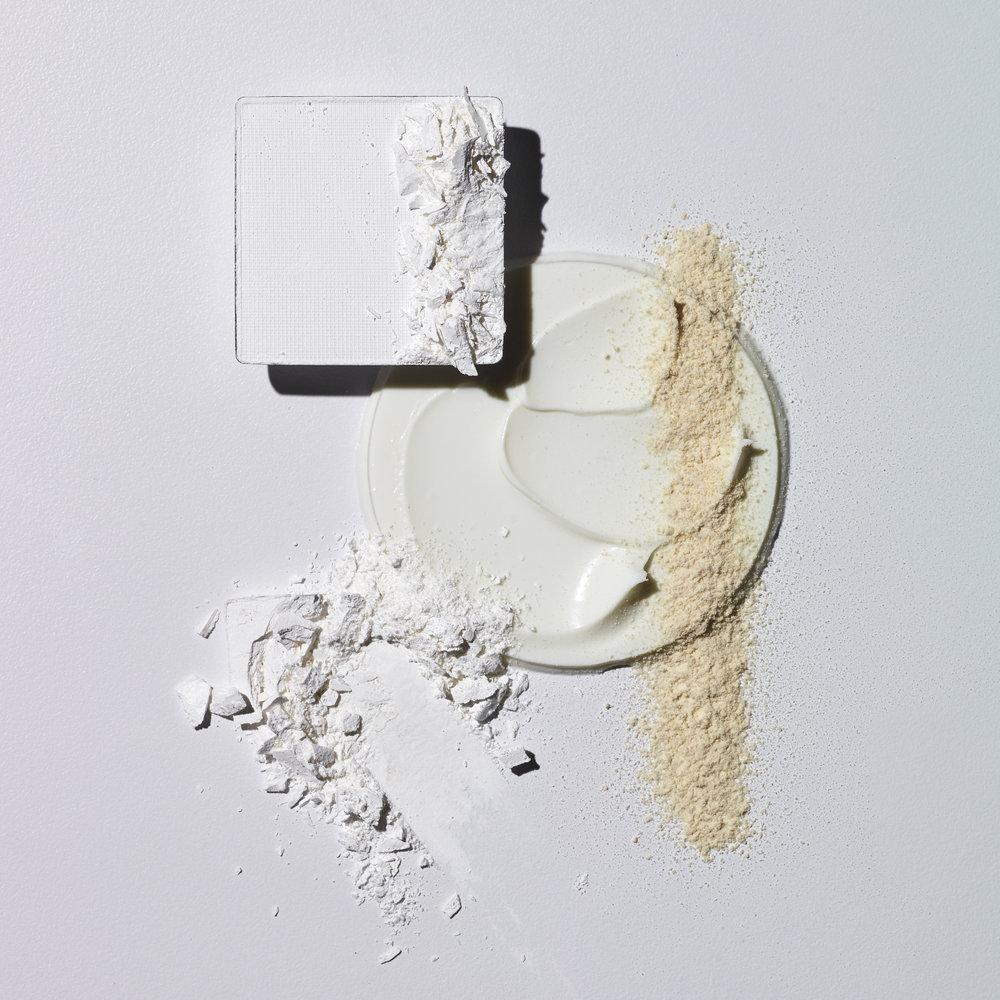 White Make Up Still Life