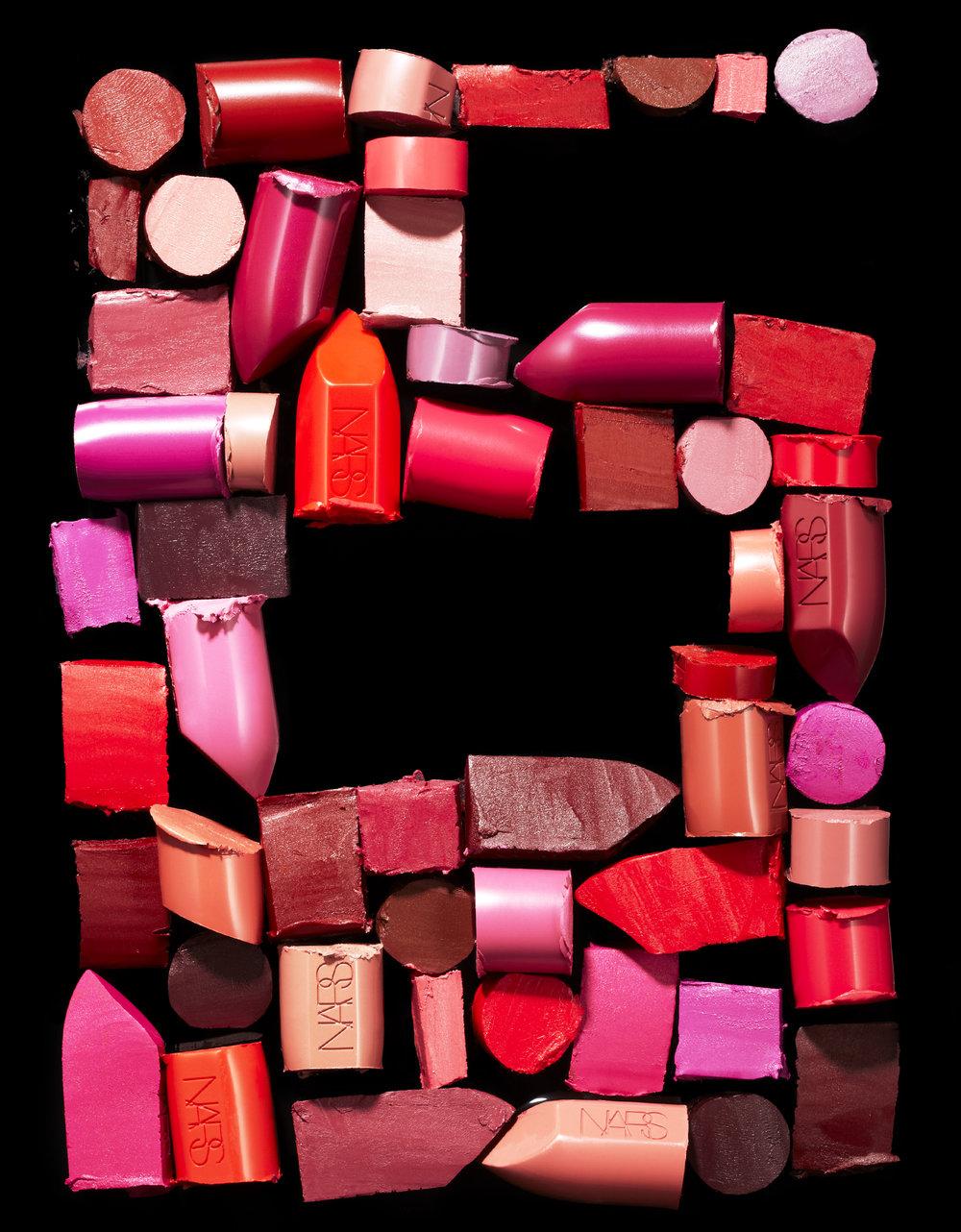 NARS Lipstick Editorial
