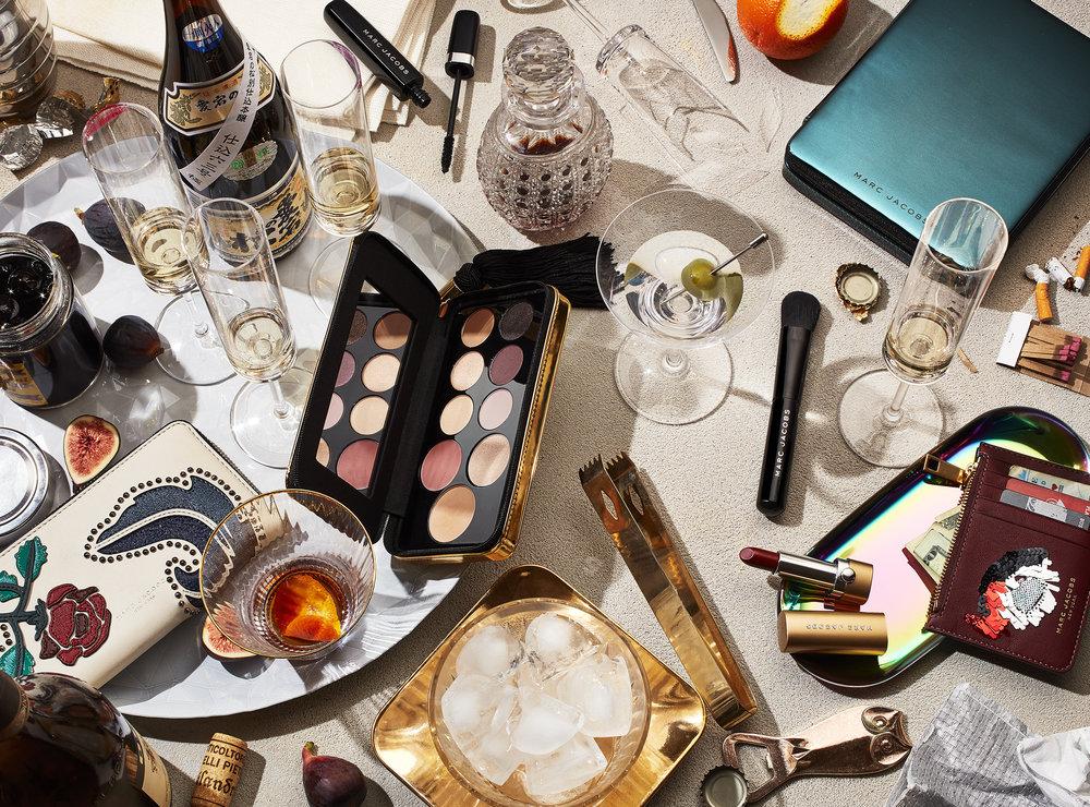 Marc Jacobs Beauty Table Scape