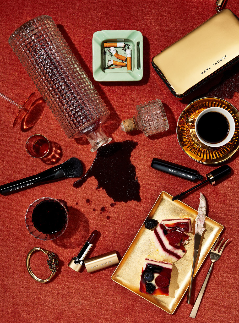 Marc Jacobs Cosmetics Table Scape