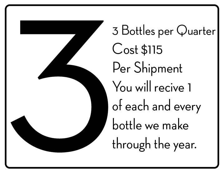 CLICK HERE TO SIGN UP FOR 3 BOTTLES PER QUARTER