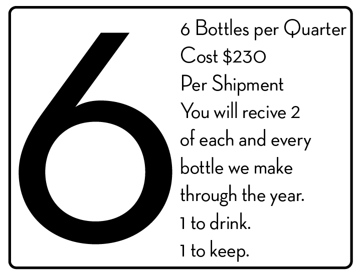 CLICK HERE TO SIGN UP FOR 6 BOTTLES PER QUARTER
