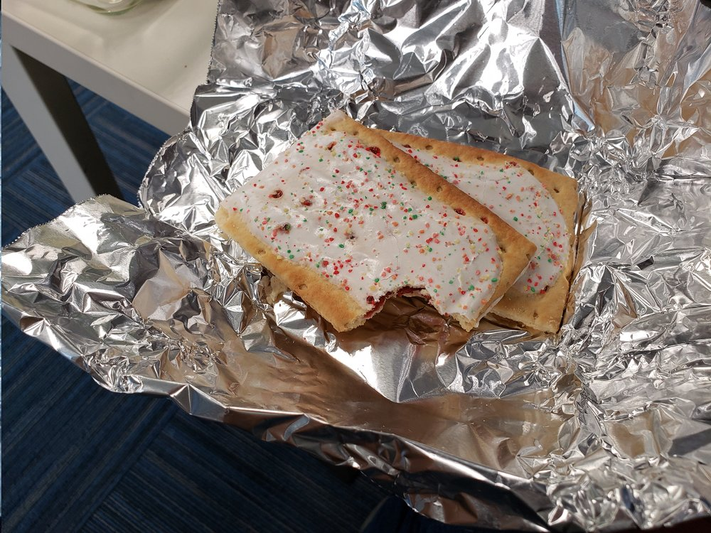 Frosted Pop Tarts again