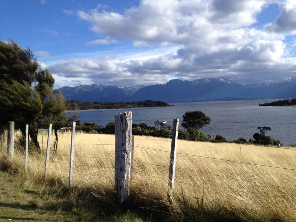 Driving to Te Anau