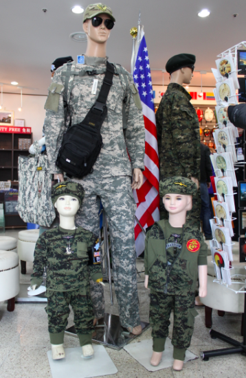 Military getup for your kids?
